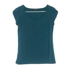 Ann Taylor Size XSP Green Blouse